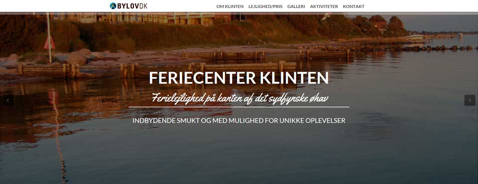 WEBSITE / FERIECENTER KLINTEN